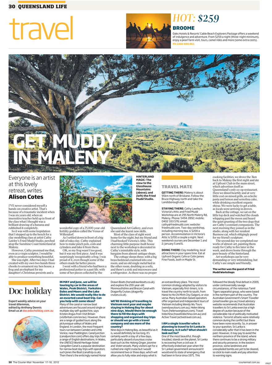 The Courier-Mail November 2012